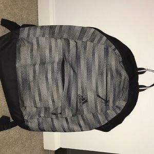 Adidas Grey School Backpack